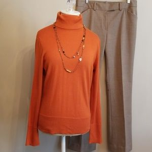 Adrienne Vittadini ~ Cashmere and Silk Sweater